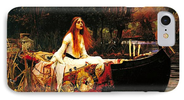 The Lady Of The Shalot Phone Case by Pg Reproductions