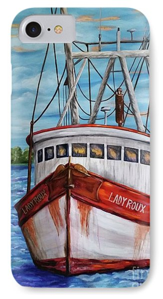 The Lady Roux IPhone Case