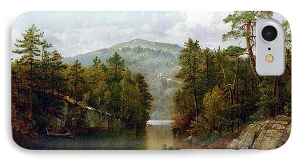 The Lake George IPhone Case by David Johnson
