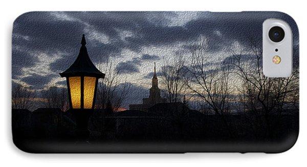 The Lamplight IPhone Case by Gloria Pasko