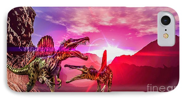 The Land Before Time 1 IPhone Case by Naomi Burgess