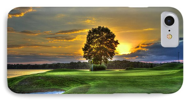 The Landing Golf Course Reynolds Plantation IPhone Case by Reid Callaway