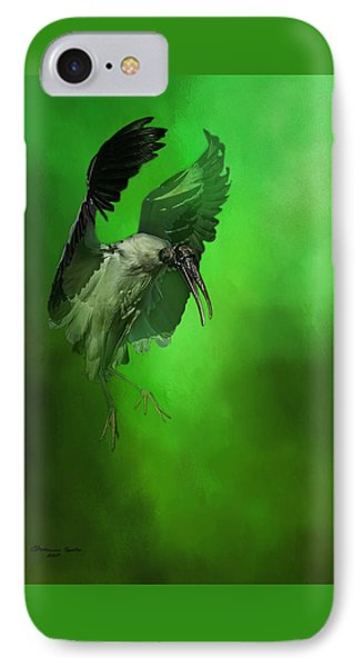 Stork iPhone 7 Case - The Landing by Marvin Spates