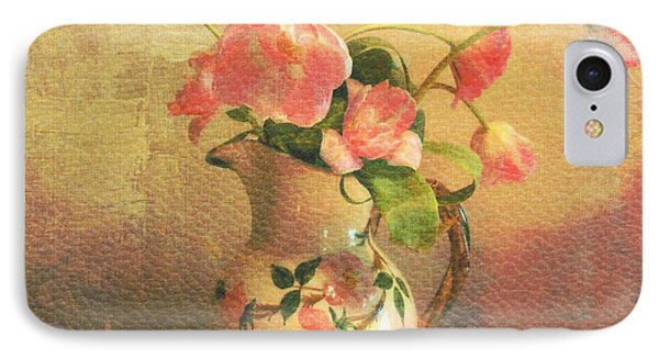 The Language Of Flowers IPhone Case by Kathy Bucari