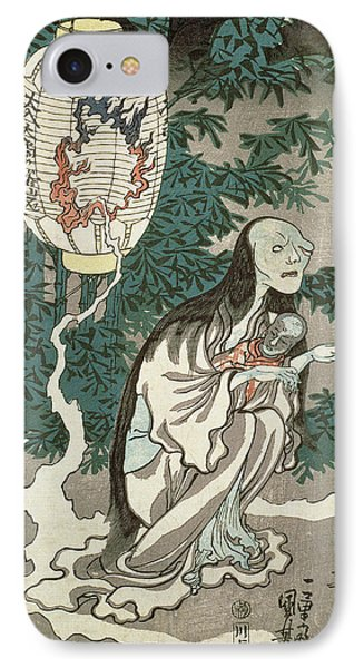 The Lantern Of The Ghost Of Sifigured O-iwa IPhone Case by Japanese School