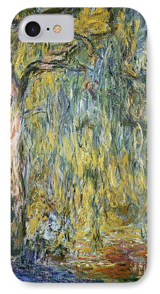 The Large Willow At Giverny IPhone Case