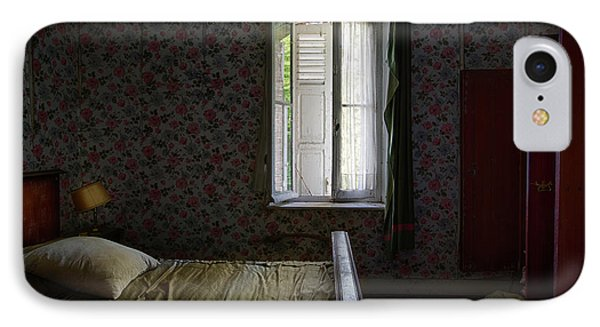 The Last Bed Time Story - Urbex Abandoned Buildings IPhone Case