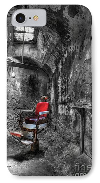 The Last Cut- Barber Chair - Eastern State Penitentiary Phone Case by Lee Dos Santos