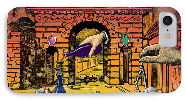 The Last Days Of Herculaneum Phone Case by Eric Edelman