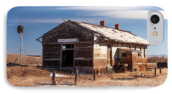 The Last Depot IPhone Case by Todd Klassy