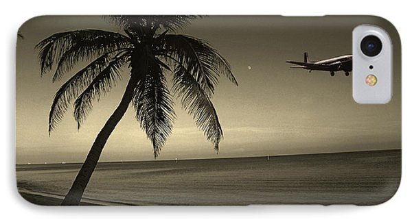 The Last Flight Out IPhone Case