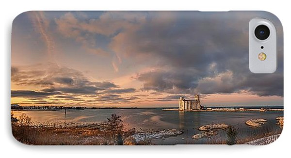 The Last Ice On The Bay Phone Case by Jeff S PhotoArt