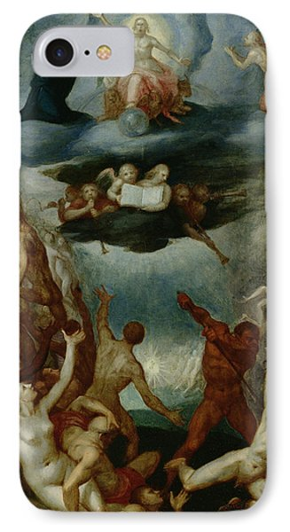 The Last Judgement  IPhone Case by Martin Pepyn