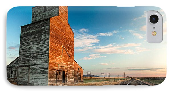 The Last Light At Laredo IPhone Case by Todd Klassy