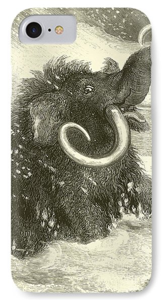 The Last Of The Mammoths IPhone Case