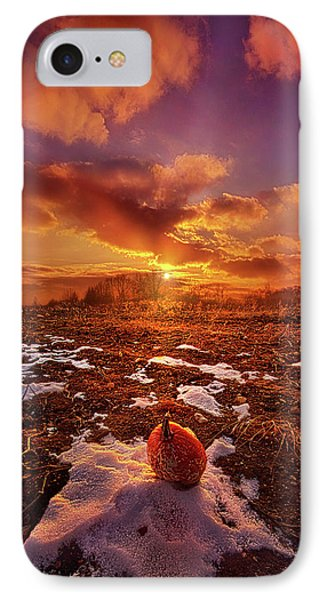 IPhone Case featuring the photograph The Last Pumpkin by Phil Koch