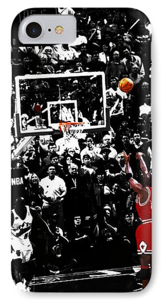 The Last Shot 23 IPhone Case by Brian Reaves