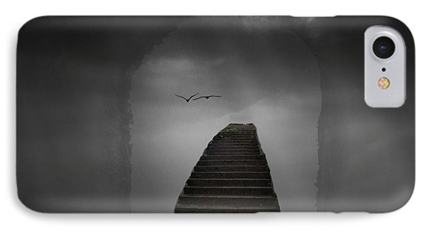 The Last Steps IPhone Case by Keith Elliott