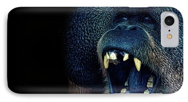 The Laughing Orangutan IPhone 7 Case by Martin Newman