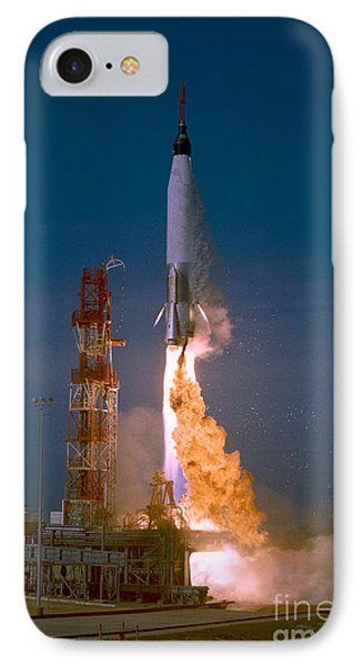 The Launch Of The Mercury Atlas Phone Case by Stocktrek Images