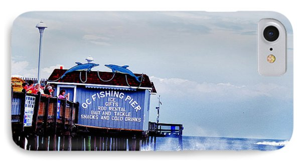 The Leaning Pier IPhone Case by Kelly Reber