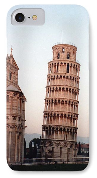 The Leaning Tower Of Pisa IPhone Case by Marna Edwards Flavell
