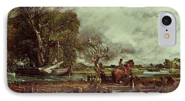 The Leaping Horse Phone Case by John Constable