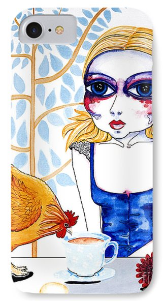 The Least I Could Do IPhone Case by Leanne Wilkes