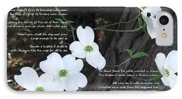 The Legend Of The Dogwood IPhone Case