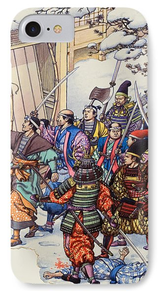 The Legend Of The Forty-seven Ronin IPhone Case by Pat Nicolle