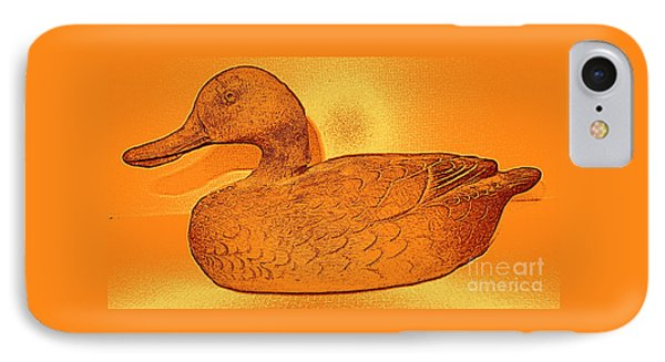 The Legend Of The Golden Duck IPhone Case by Richard W Linford