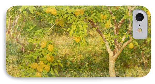 The Lemon Tree IPhone Case by Henry Scott Tuke