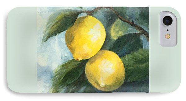 The Lemon Tree IPhone Case by Torrie Smiley