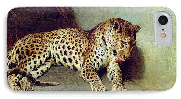 The Leopard IPhone Case by John Sargent Noble