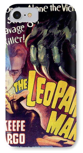 The Leopard Man Phone Case by Movieworld Posters