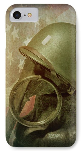 IPhone Case featuring the photograph The Lieutenant by Tom Mc Nemar