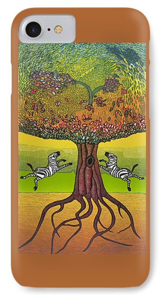 The Life-giving Tree. IPhone Case by Jarle Rosseland