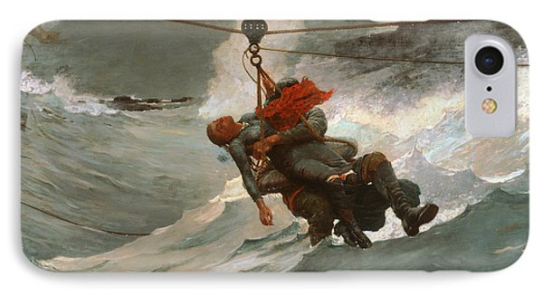 The Life Line IPhone Case by Winslow Homer