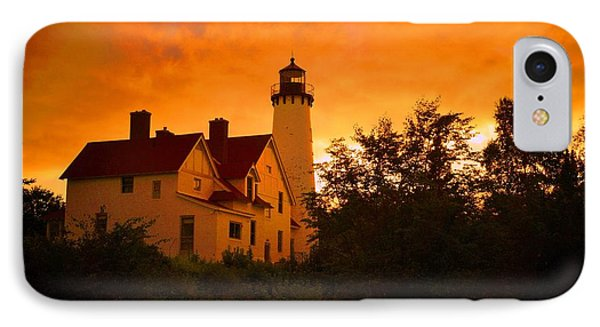 The Light At Dusk IPhone Case by Daniel Thompson