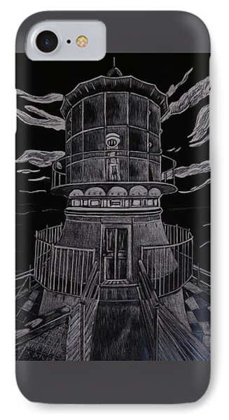 The Light At Sea IPhone Case by Betty Miller