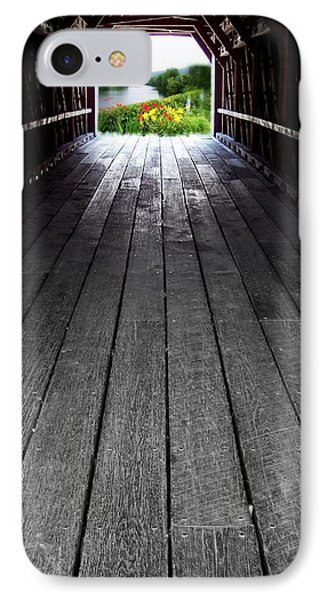 The Light At The End Of The Winter IPhone Case
