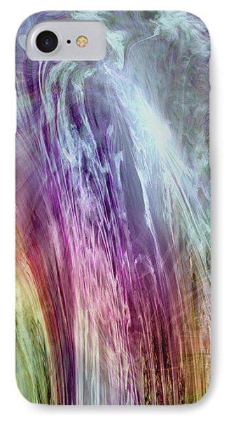 The Light Of The Spirit Phone Case by Linda Sannuti