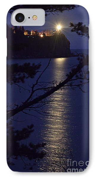 IPhone Case featuring the photograph The Light Shines Through by Larry Ricker