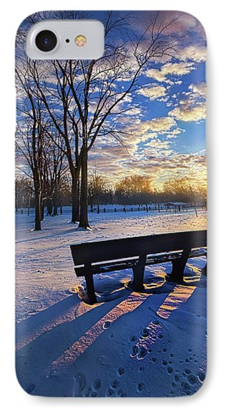 IPhone Case featuring the photograph The Light That Beckons by Phil Koch