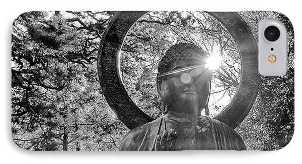 IPhone Case featuring the photograph The Light Within And Without by Lora Lee Chapman