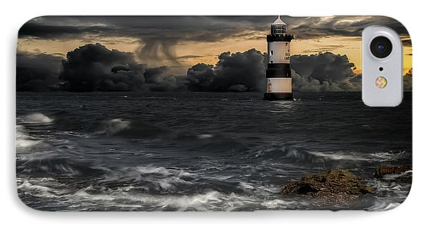 The Lighthouse Storm IPhone Case