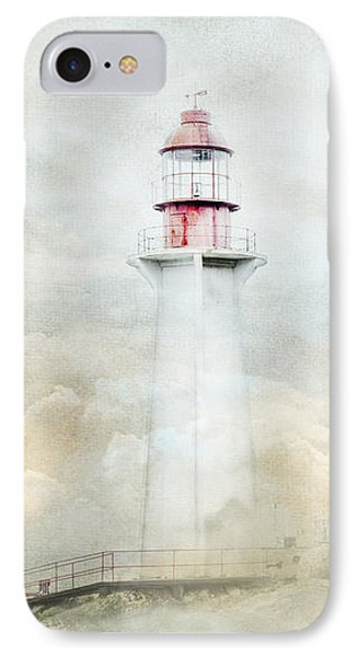 The Lighthouse IPhone Case by Theresa Tahara