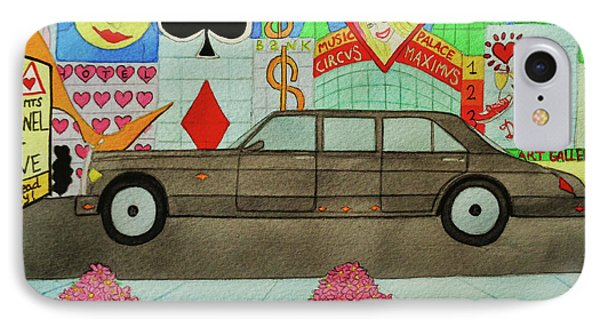 The Limo Of Sucess And Love IPhone Case
