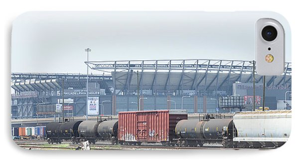 The Linc From The Other Side Of The Tracks IPhone Case by Bill Cannon