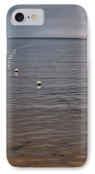 IPhone Case featuring the photograph The Line by Jouko Lehto